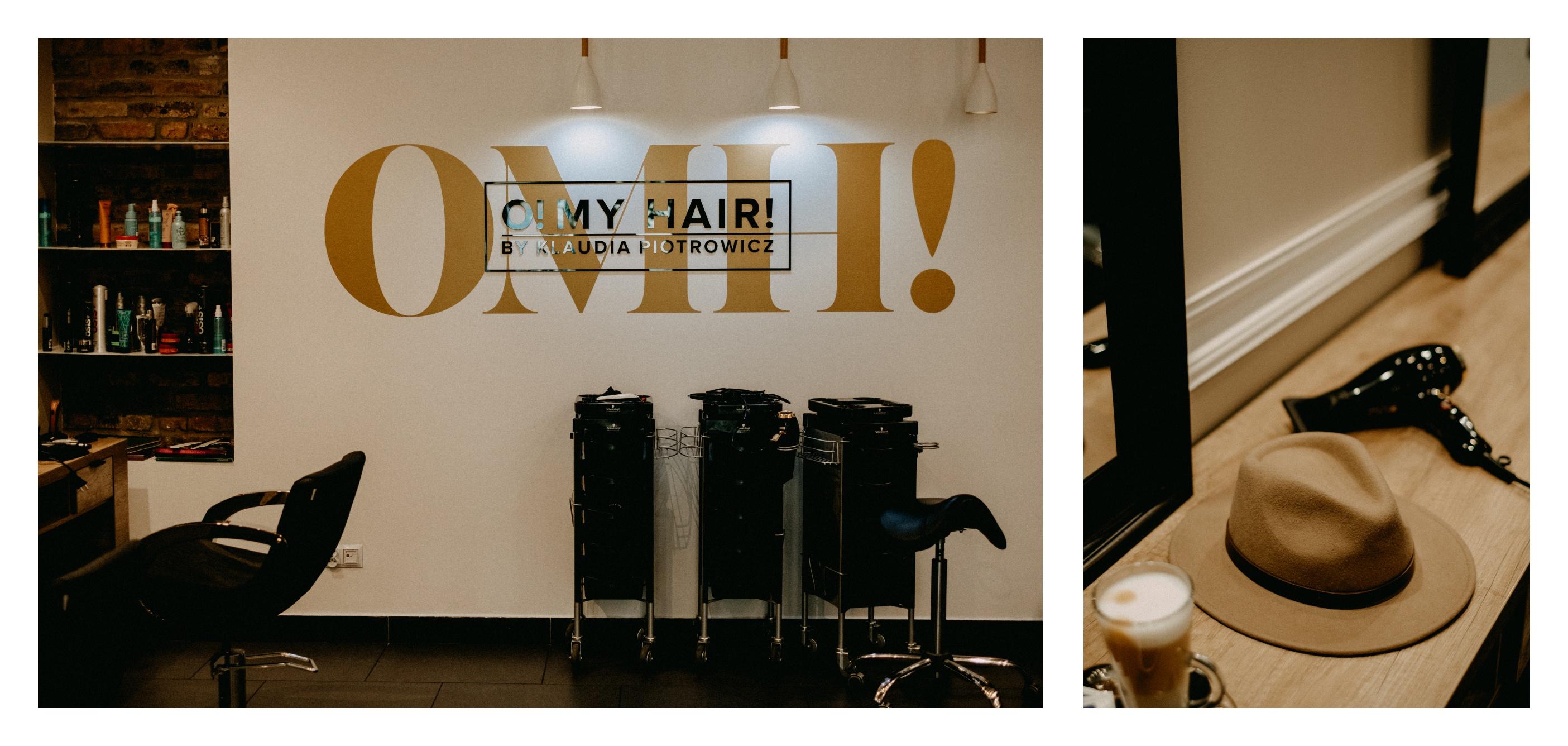 salon fryzjerski omh