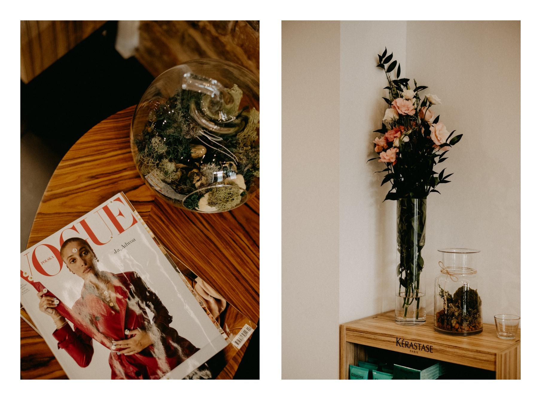 vogue poland, magazyn, kwiaty,
